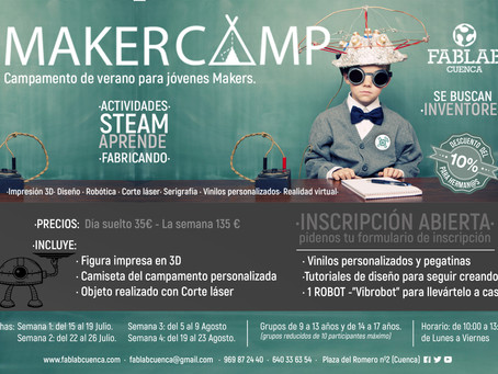 MAKER CAMP 2019 ·FABLAB CUENCA·