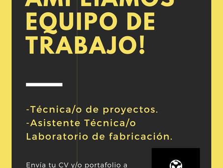 FabLab Cuenca busca ampliar su equipo de trabajo!