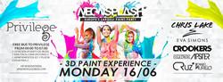 Neon Splash Flyer June 16