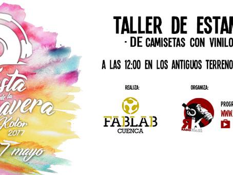 Talleres Fiesta de la Primavera 2017