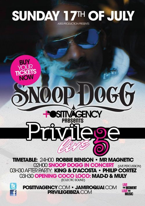 Privilege Live! Snoop Dogg