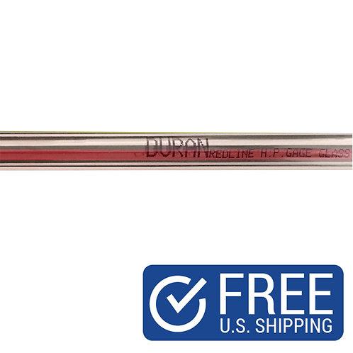 SCHOTT Duran Red Line Tubular Gage Glass 622370