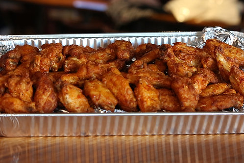 50pc Wings Combo (includes fries + 2 drinks)