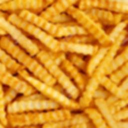 Crinkle fries