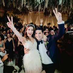 """""""Best band EVER! You will never leave the dance floor so make sure you have your dancing shoes on. If you want a professional, classy, and high energy band then Eli's Band is the way to go!"""" - BARBARA & LOUIS - Rancho Guadalupe, TX"""
