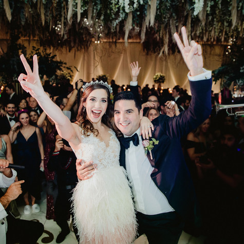 """Best band EVER! You will never leave the dance floor so make sure you have your dancing shoes on. If you want a professional, classy, and high energy band then Eli's Band is the way to go!"" - BARBARA & LOUIS - Rancho Guadalupe, TX"