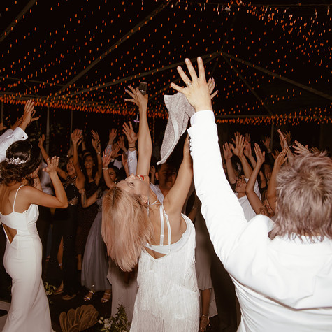 """I've had the pleasure of enjoying Eli's band four times now, one of which was at my wedding. They are amazing to work with and almost act as a second wedding planner in terms of their understanding of what to play at what times to make the event unforgettable. When I first saw them, I knew I had to book them for my wedding and making sure they could be scheduled was the first thing I did. Many of my friends who have also been to an event with Eli's Band quickly booked them for their own wedding. Cannot go wrong with this amazing team!"" - DILSHAT & FIROZA - Private Estate, Malibu CA"