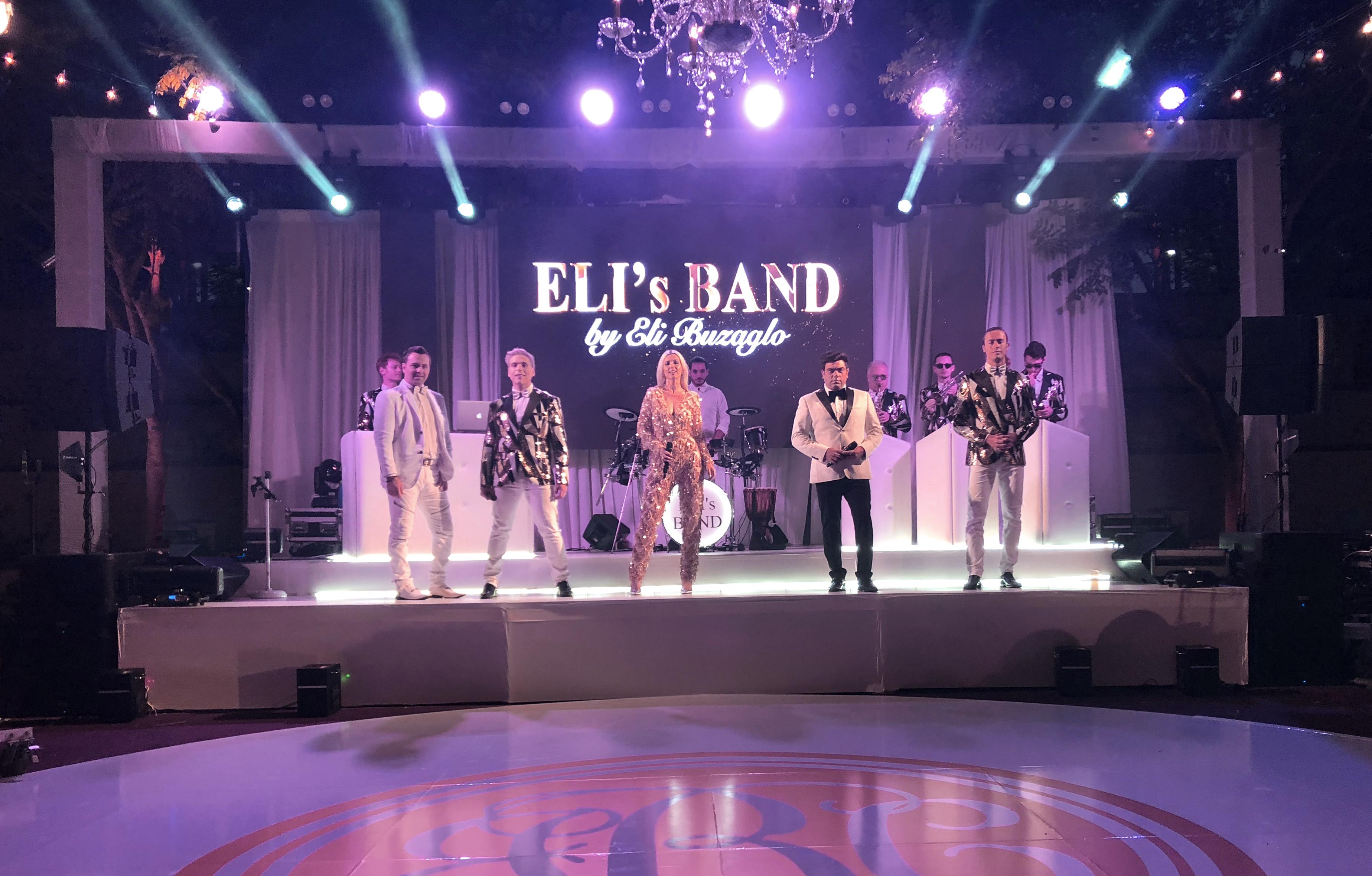 Elis Band Eli Buzaglo live band