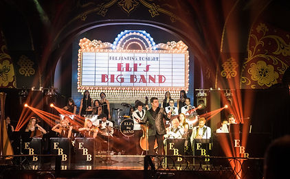 Elis Big Band 25 Piece Orchestra Entertainment For Luxury Weddings Corporate Events Themed Parties