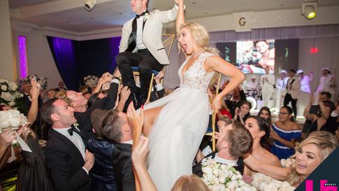Dancing with The Stars couple Emma Slater & Sasha Farber at Bella Blanca