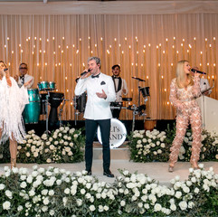 """""""The best!!!! We had them for our wedding and they were amazing. They really put their heart and soul into what they do and it shows. They know how to keep your party going and can play ALL genres of music. It is shocking! We had Farsi, Hebrew,  English and Spanish and my friends thought that J. Balvin himself was singing the songs on stage. That's how good they are! There is nobody better. Really. They have the best suggestions for music, they are open to working with you and hearing your suggestions, and their sound quality is perfect. We have been to soooo many weddings where the sound was off and it ruins the party. Eli and his band are true professionals and we are SOOO grateful that they played at our wedding!"""" - LIMORE & ERAJ - Ritz Carlton Laguna Niguel, OC"""