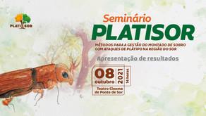 AFLOSOR PROMOVE SEMINÁRIO PLATISOR   APRESENTAÇÃO DE RESULTADOS