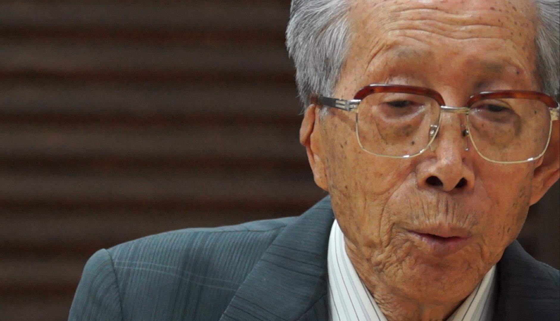 Shinji Mikamo at age 87