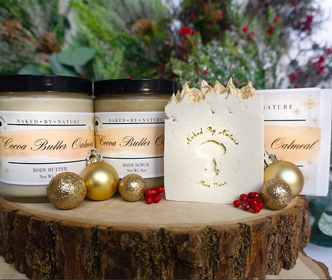 Cocoa Butter Oatmeal Holiday Bundle