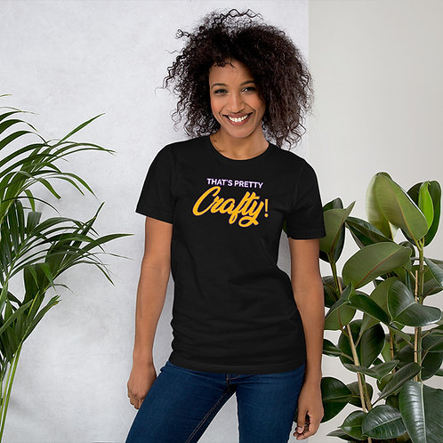 That's Pretty Crafty Short-Sleeve Unisex T-Shirt (Bella + Canvas)