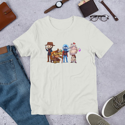 Shaun's Characters Short-Sleeve Unisex T-Shirt