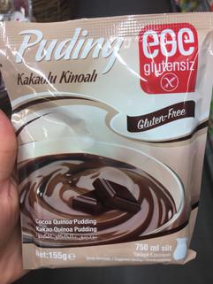 Glutensiz puding arayanlar için yeni bir ürün.