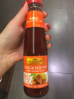 Bazı insanlar bu sosa sevdalı... Kolay da bulunmuyor. Seviyorsanız bulduğunuz yerde kapın diyoruz tavuk etlerinde, deniz ürünlerinde ve kızartmalarda başarılı:) Macro Center'da