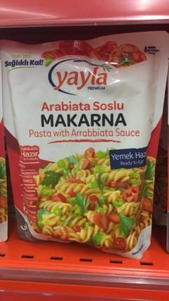 Yayla'dan gelen şipşak makarnalar artık arabiata soslu