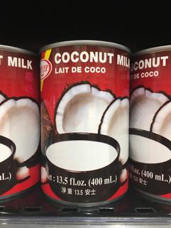 Hindistan cevizi sütü konservesi, yemekleri tatlandırmak için de kullanılıyor, besleyici değerleri ile ve lezzetiyle tercih edilen süt Macro Center'larda