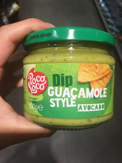 Guacamole usulü cips sosumuz avokadolu :) Macro Center'da