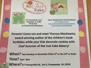 Scribbles Book Signing Event!