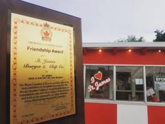 Friendship Award.... very honoured!