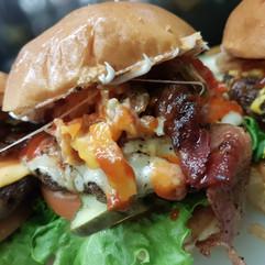 Pineapple Bacon Burger