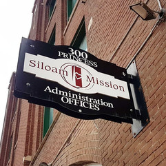 Another drop off to Siloam ission