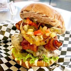 Spicey Pine Burger