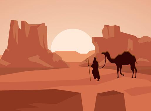 Matot -Masei: The end of the journey through the desert