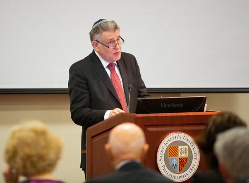 Rabbi Abraham Skorka Named SJU University Professor