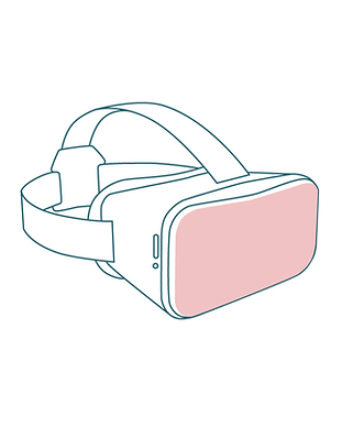 VR glajjer m bakgrund