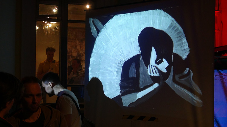 Moscow Union of Artists «The Backstage of Existence», Moscow May 18