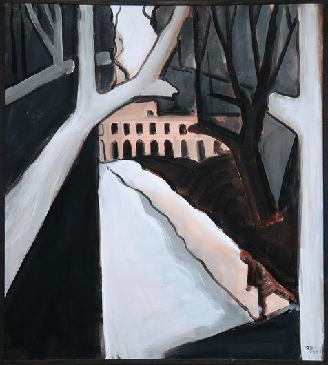 Acrylic on canvas, 100x90 cm. 2020  2500 €