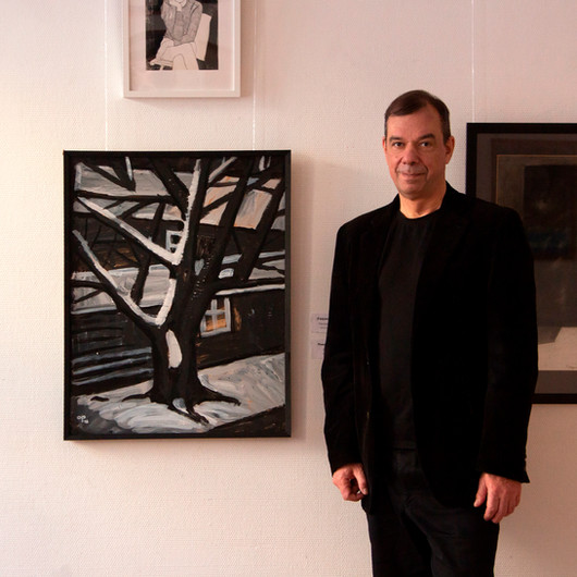 """Art exhibition """"On the Paper"""" Artist's House, Moscow 2020"""