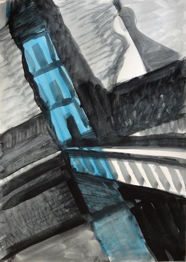 BRIDGE THROUGH THE YAUZ RIVER