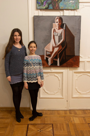 """Art exhibition """"The Feeling of Spring"""" Artist's House, Moscow 2021, Februar 9 - 12"""