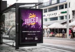 Juiced Adshel Advertisement