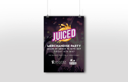 Hanging JUICED Poster