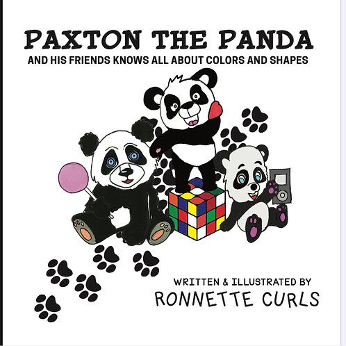 Paxton The Panda and His Friends Knows all About Shapes and Colors