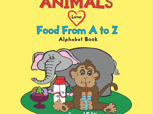 Animals Love Food From A To Z