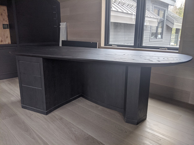 Ebonized Ash Desk