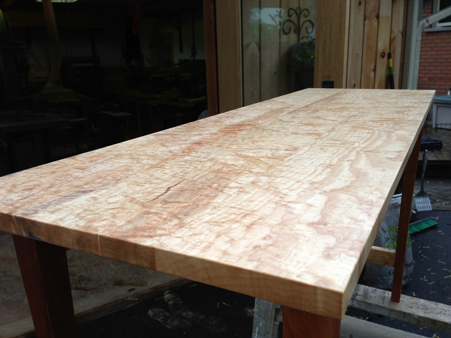 Maple Accent Table