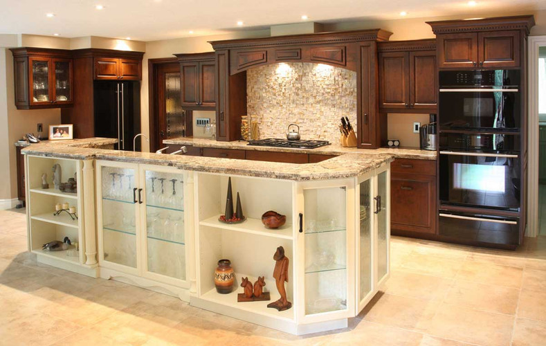 Kitchen Cabinetry and Island