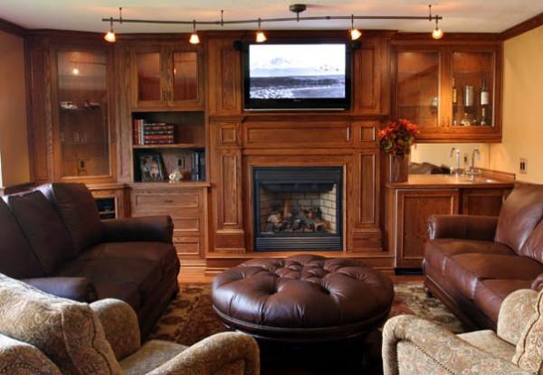Living Room Builtin