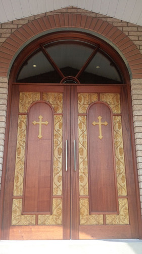 Carved Church Doors