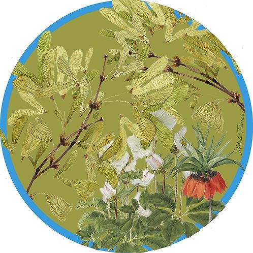"""Sottopiatto/placemat """"Fritillaria"""""""