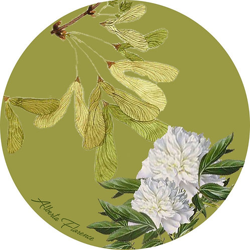 "sottobicchiere/coaster ""Peonia"""