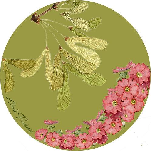 """sottobicchiere/coaster """"Primula"""""""